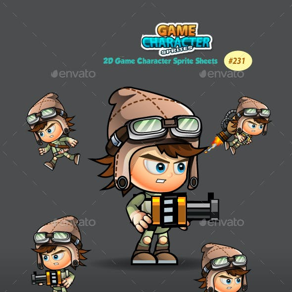 2D Game Character Sprites 231