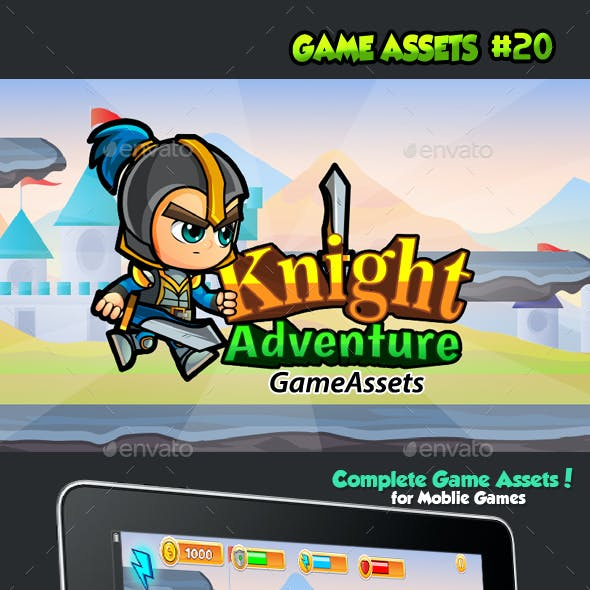 Knight Adventure Game Assets 20