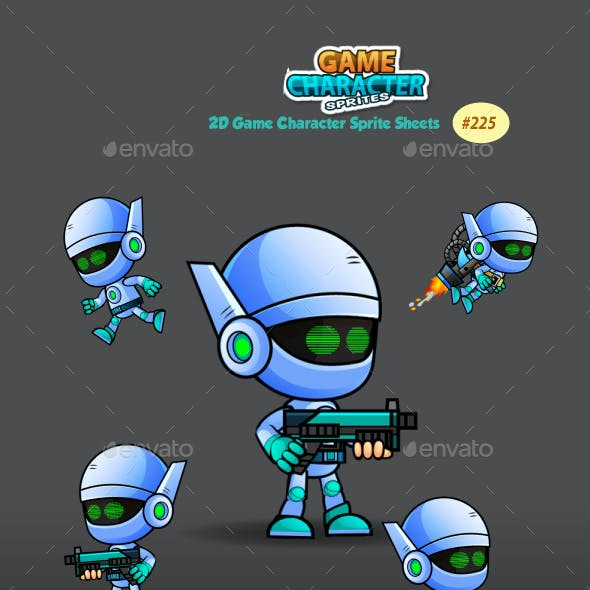 Robo Game Character Sprites 225