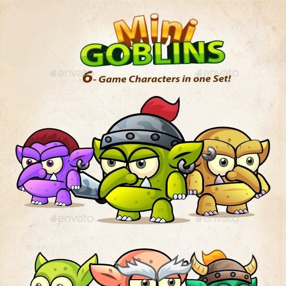 Mini Goblins Game Character Sprites 210