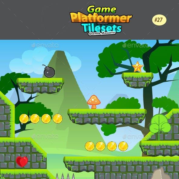 2D Game  Platformer Tilesets 27