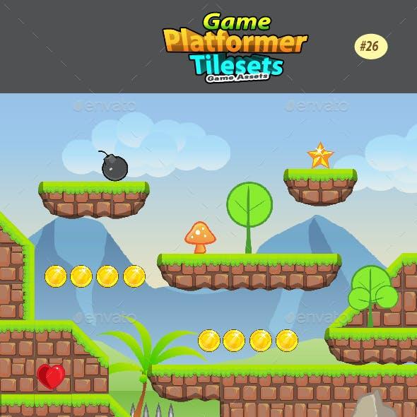 2D Game Platformer Tilesets 26