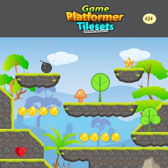 2D Game Platformer Tilesets 24