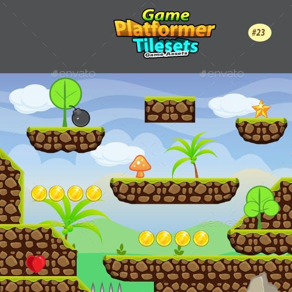 2D Game Platformer Tilesets 23