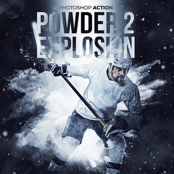 Powder Explosion 2 Photoshop Action