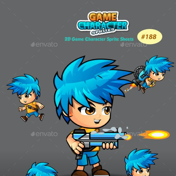 2D Game Character Sprite Sheets 188