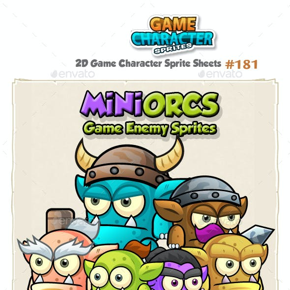 Mini Orcs Game Character Sprites 181