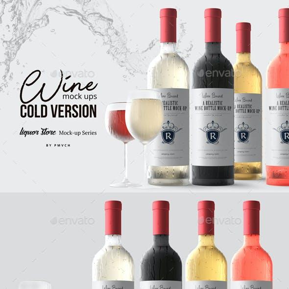 Wine Mockup - Cold Version