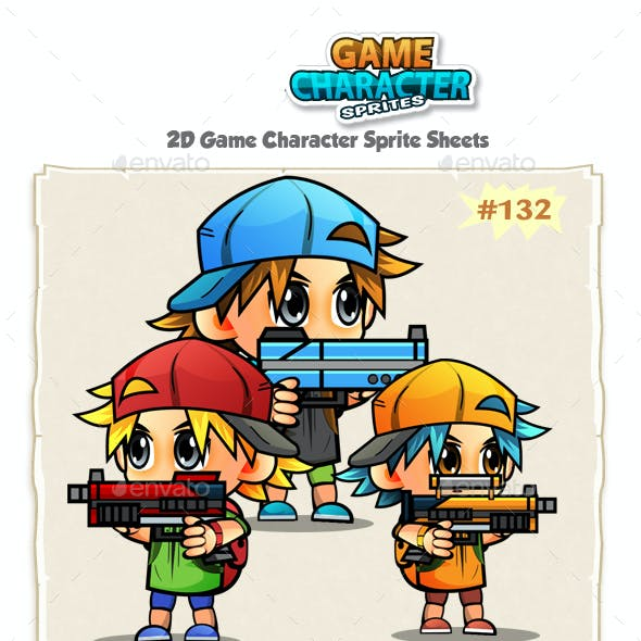 2D Game Character Sprites 132