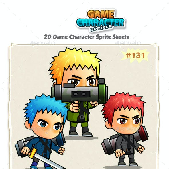 2D Game Character Sprites 131