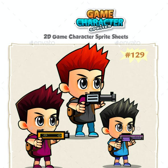 2D Game Character Sprites 130
