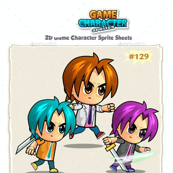 2D Game Character Sprites 129