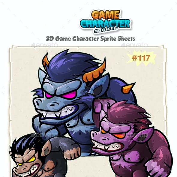 The Beast Monsters 2D Character Sprites 117