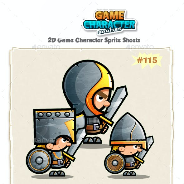 The Knights  2D Game Character Sprites 115