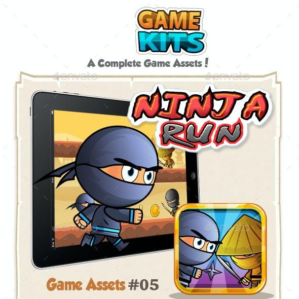 Ninja Run Game Assets