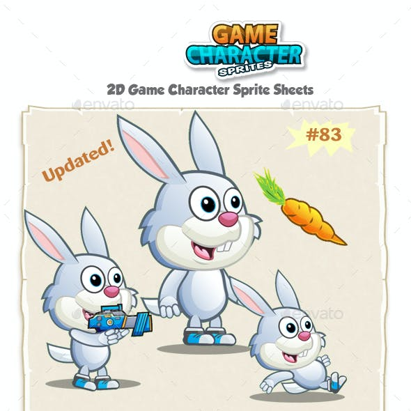 Bunny 2D Game Character Sprites 83