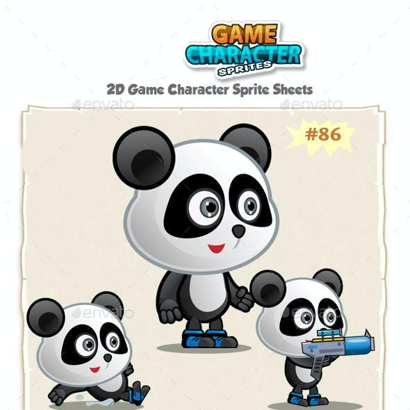 Panda 2D Game Character Sprites 86