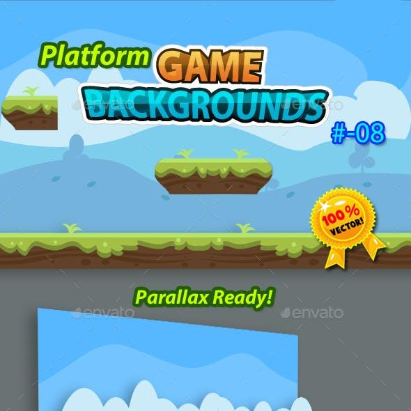 Platform Game Backgrounds 08