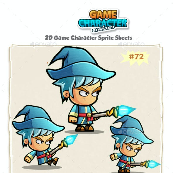 Mage Game Character Sprites 72