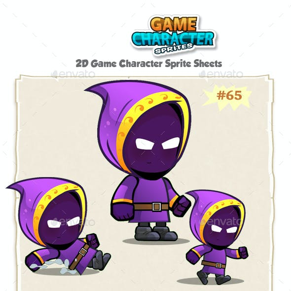 Mage 2D Game Character Sprites 65