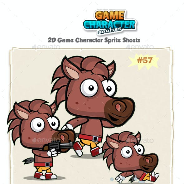 Horse 2D Game Character Sprites 57