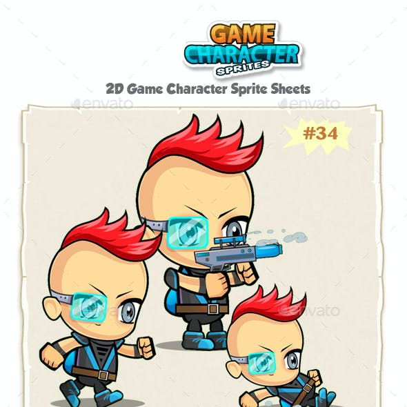 2D Game Character Sprites 34