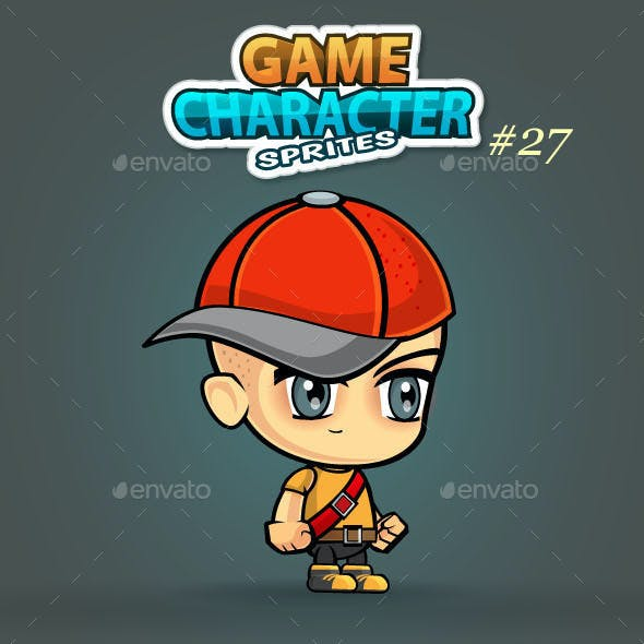 2D Game Character Sprites 30