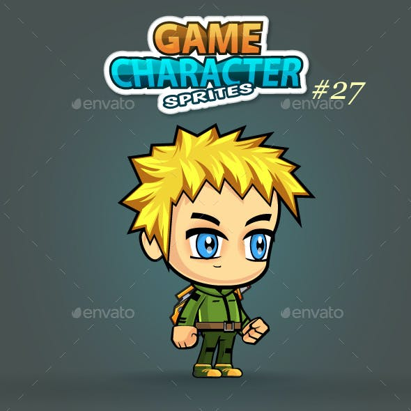 2D Game Character Sprites 29