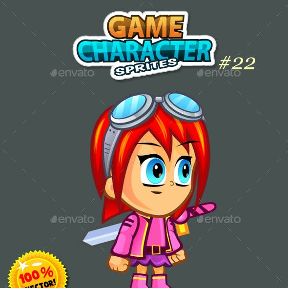 2D Game Character Sprites 22