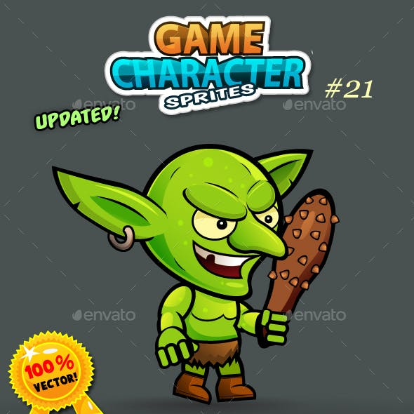 Goblin 2D Game Character Sprites 21