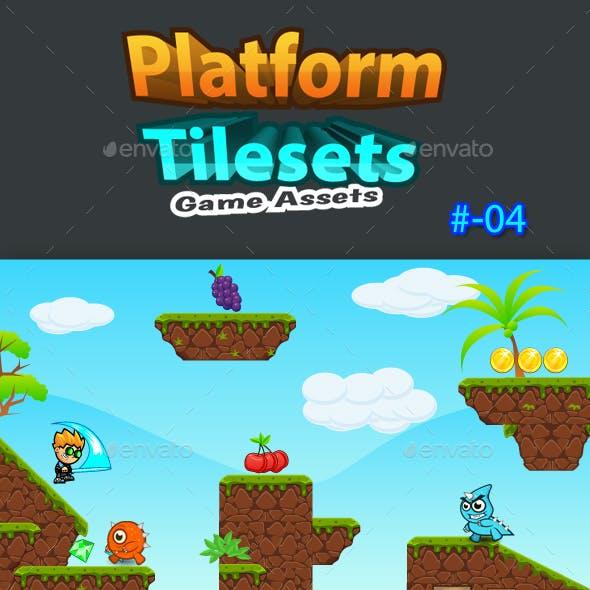 Platform Tilesets Game Assets