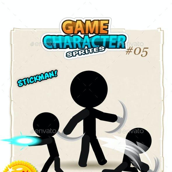 Stickman Character Sprites 05