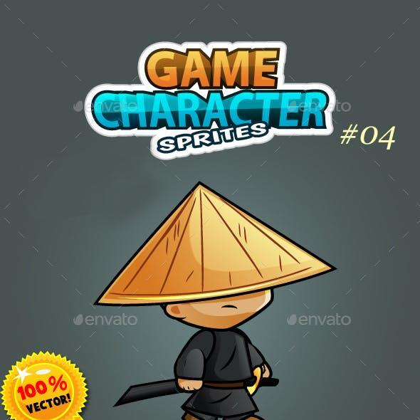 Samurai Character Sprites O4