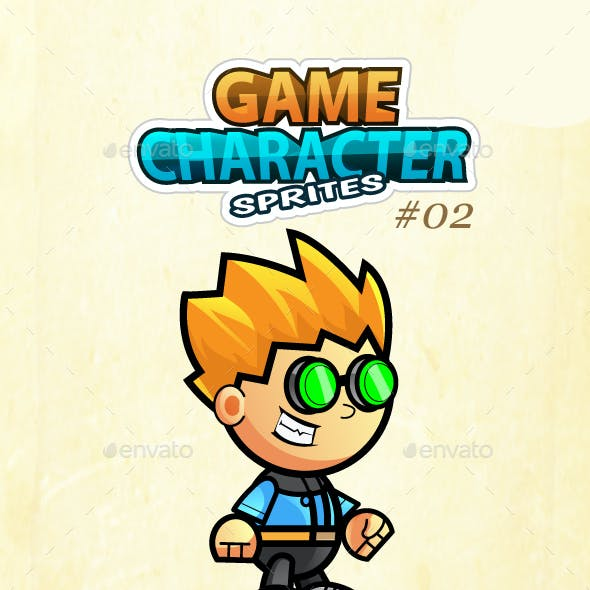 Game Character Sprites 02