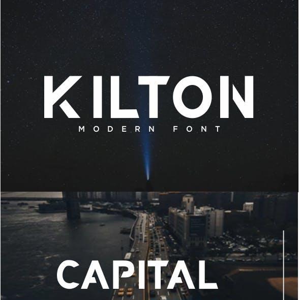 KILTON - Modern Font