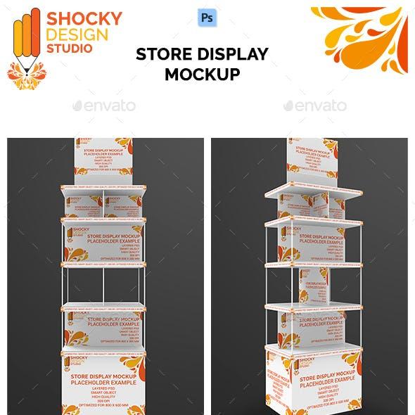 Store Display Mockup