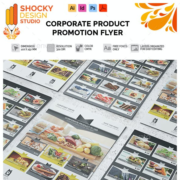 Corporate Product Promotion Flyer Template