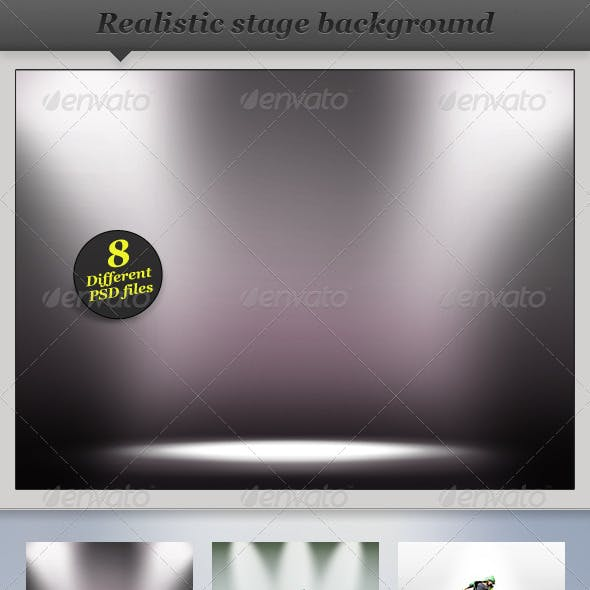 Spotlight Background - Product Showcase Display