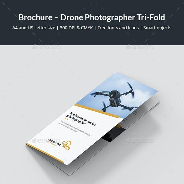 Brochure – Drone Photographer Tri-Fold
