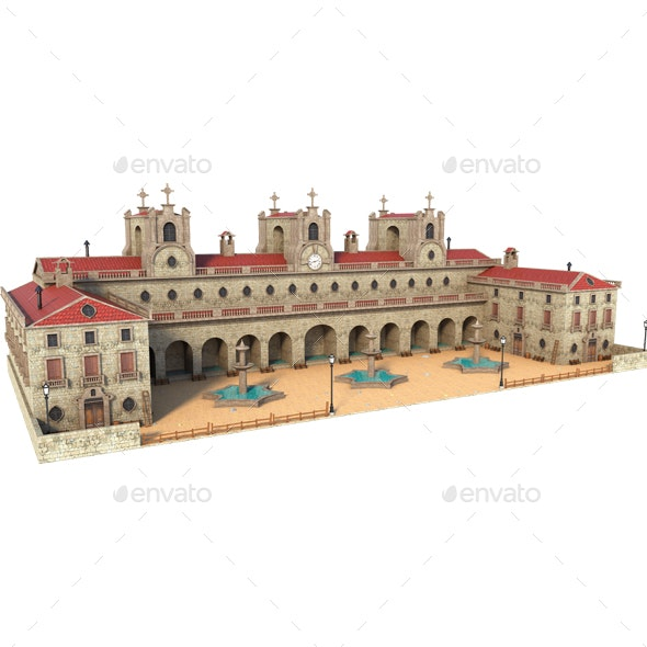 Old Building - Architecture 3D Renders