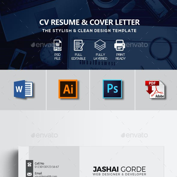 CV Resume Office Word