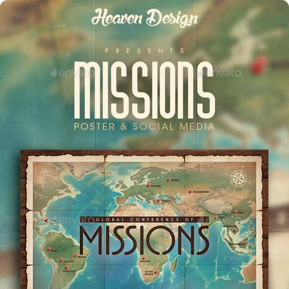 Missions   Poster & Social Media