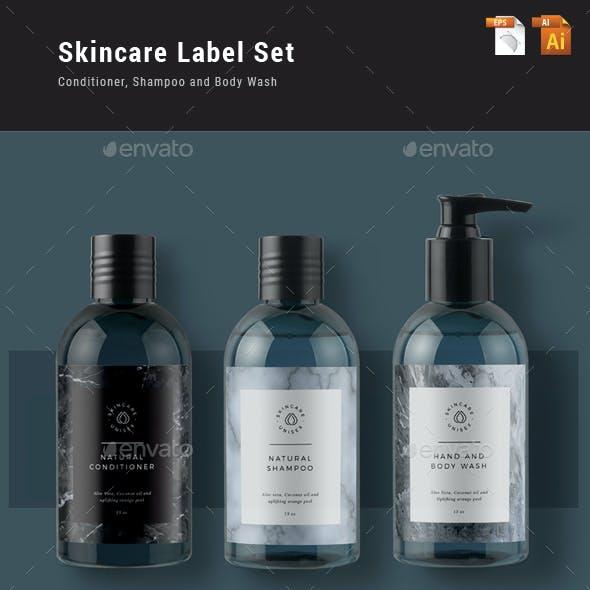 Skincare Label Set