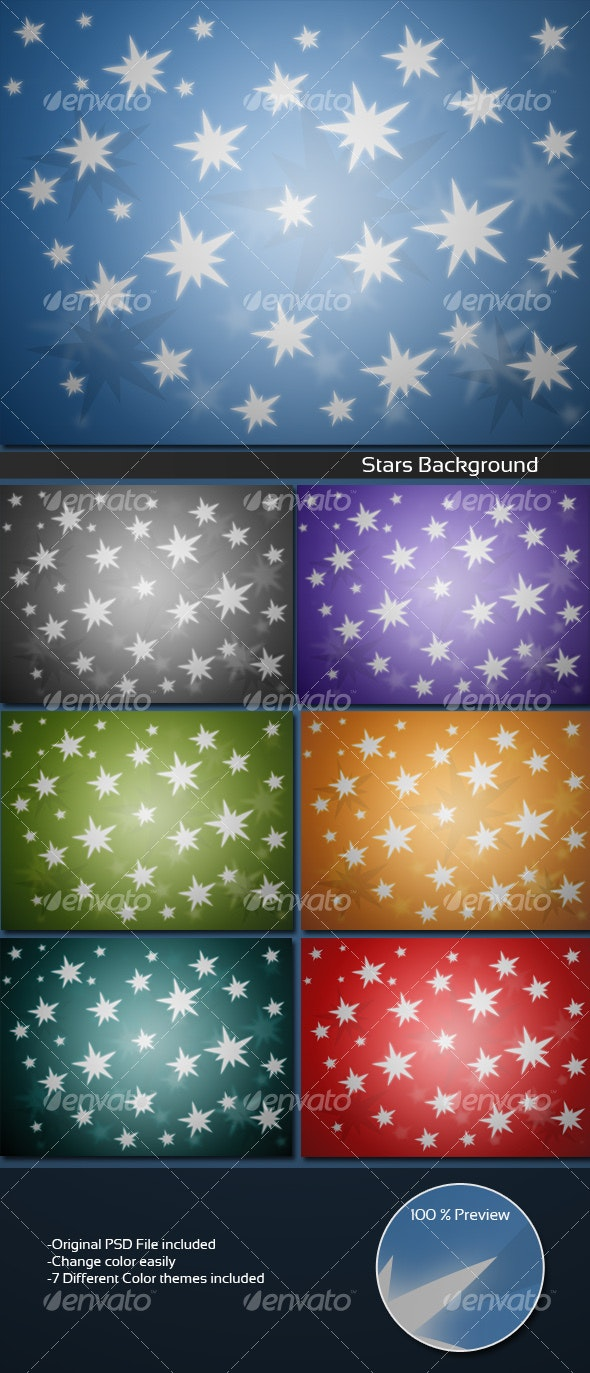 Stars Background - Backgrounds Graphics