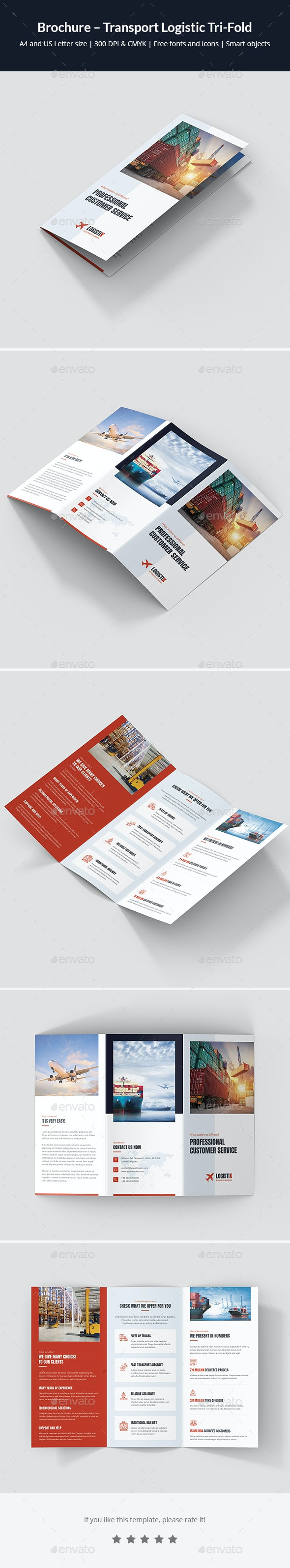 Brochure – Transport Logistic Tri-Fold - Corporate Brochures