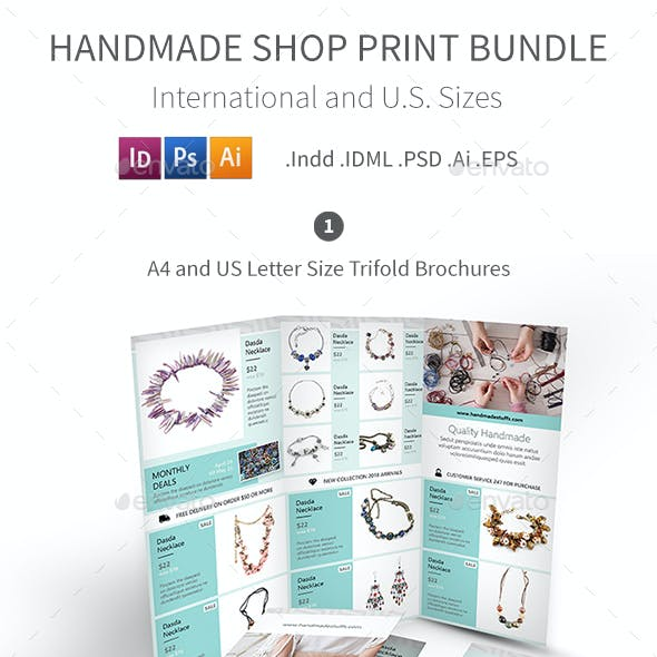 Handmade Shop Print Bundle