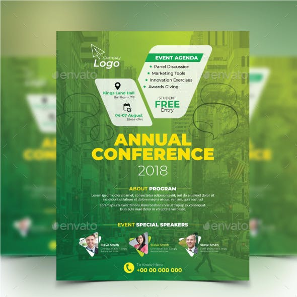 Corporate Conference Flyer