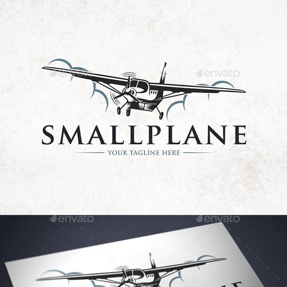 Clouds Small Plane Logo