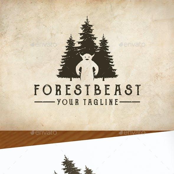 Monster Forest Logo Template