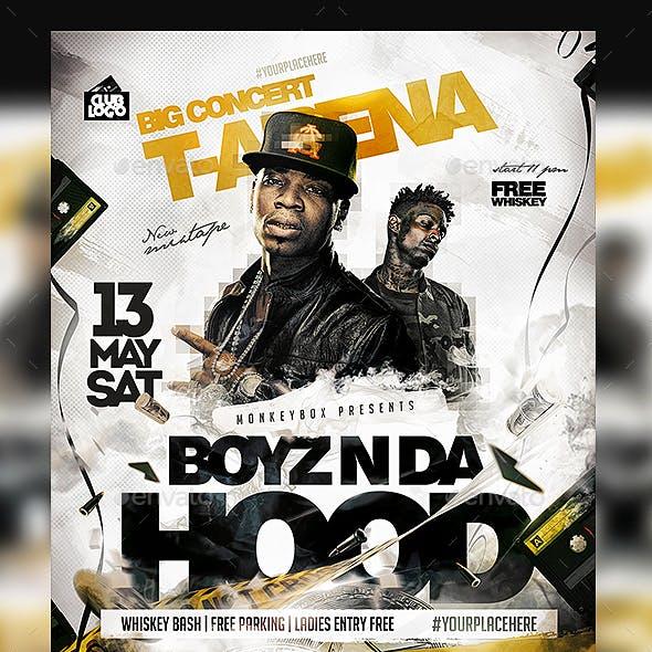 Hip-Hop Concert Flyer